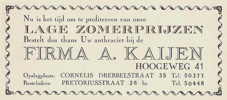 Cornelis Drebbelstraat 35 - 1939  Alle rechten voorbehouden