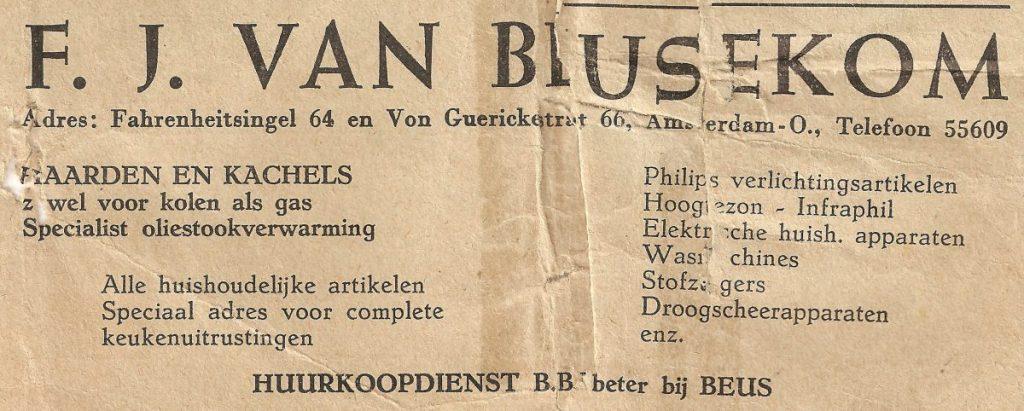 Fahrenheitsingel 64 - 1957  Alle rechten voorbehouden