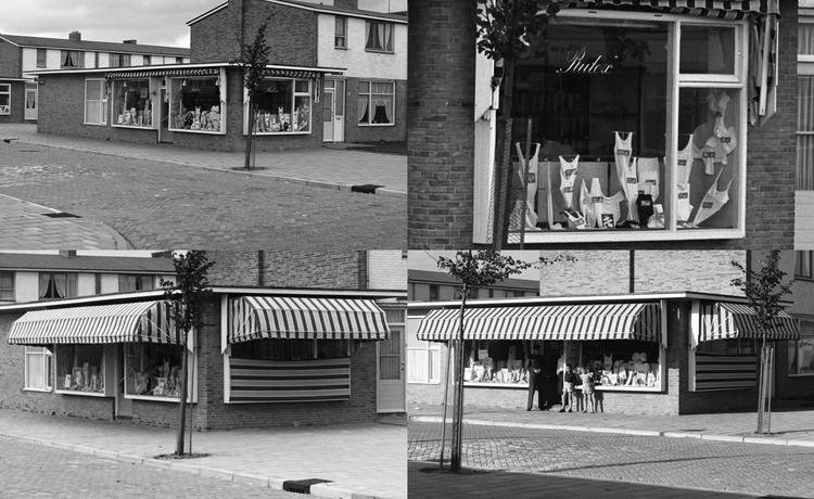 Fizeaustraat hoek 23/ hoek Von Liebigweg - 1953. Foto: Beeldbank Amsterdam © Alle rechten voorbehouden