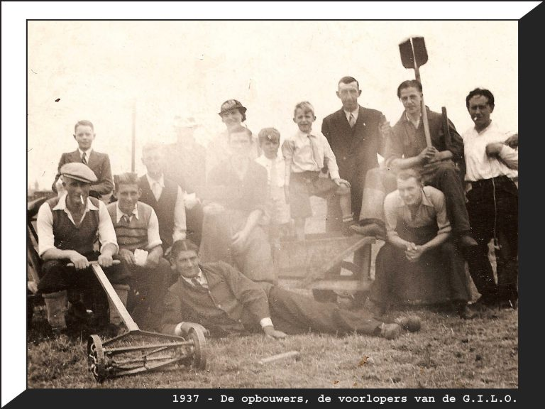 De opbouwers, de voorlopers van de G.I.L.O. Foto: 1937 Alle rechten voorbehouden
