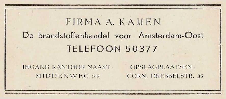 Cornelis Drebbelstraat 35 - 1948  Alle rechten voorbehouden