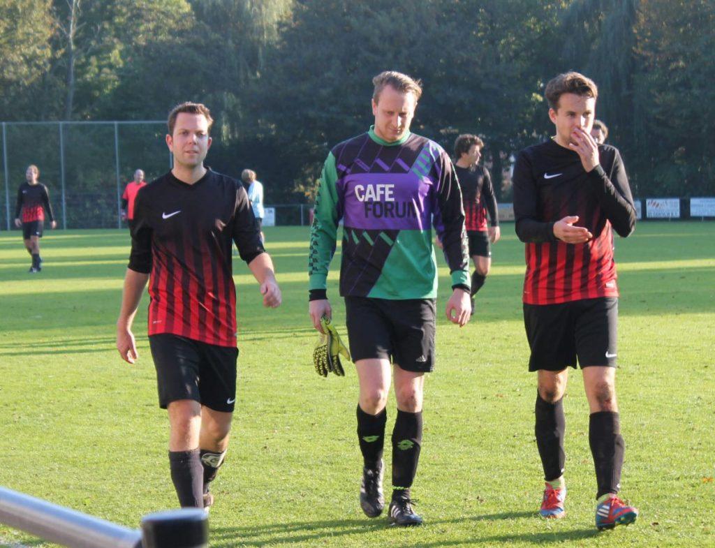 Na de wedstrijd - 2016 - Foto: Jo Haen © Alle rechten voorbehouden