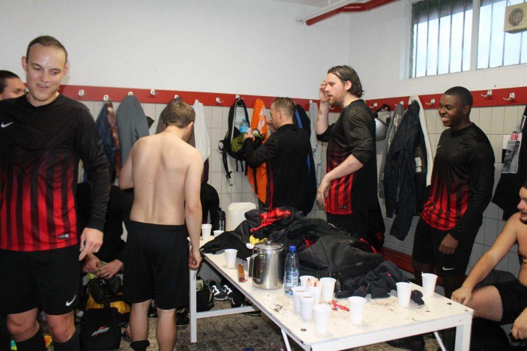 In de kleedkamer - 2016 - Foto: Jo Haen © Alle rechten voorbehouden
