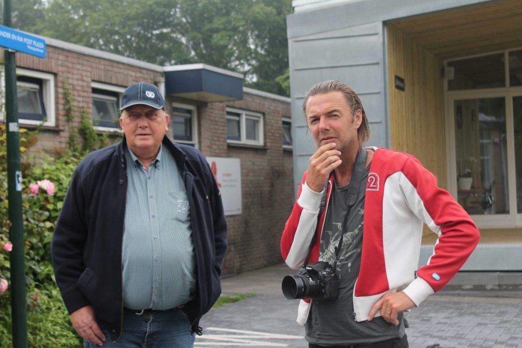 Sander met fotograaf van De Brug - 2015 - Foto: Jo Haen
