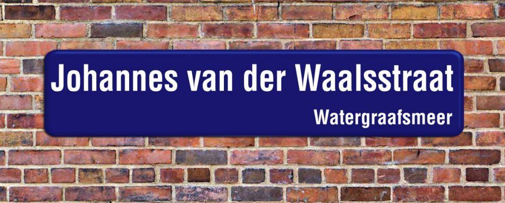 Johannes van der Waalsstraat