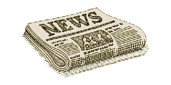Krantenartikel illustratie