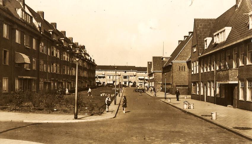 Newtonstraat - Foto: Beeldbank Amsterdam - Alle rechten voorbehouden