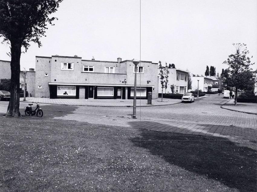 Onderlangs 68 (rechts) - 1972 - Foto: Beeldbank Alle rechten voorbehouden