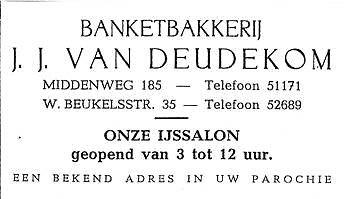 Middenweg 185 1955 - Jan van Deudekom