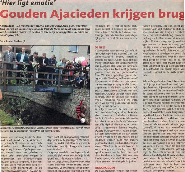 Ajax Life - oktober 2005 Alle rechten voorbehouden