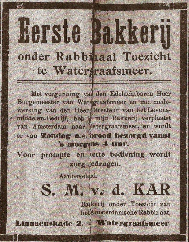 Linnaeuskade 2 - 1918 -  Kleine Meerbode 1918