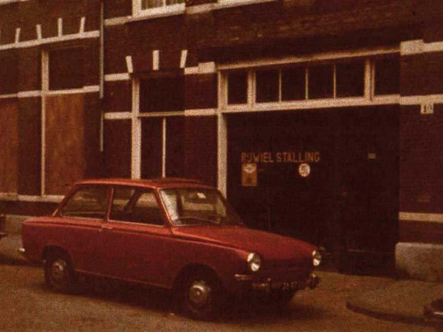 Wakkerstraat 1a - 1974 . Foto: Jan van Deudekom Alle rechten voorbehouden