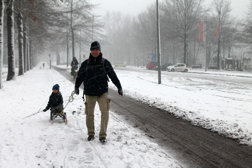 Sleetje rijden op de Radioweg - Foto: Jo Haen - Alle rechten voorbehouden