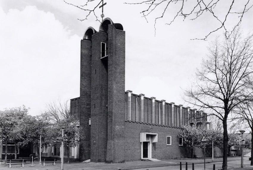Christus Koningkerk James Wattstraat 58 - Foto: Beeldbank Amsterdam - Alle rechten voorbehouden