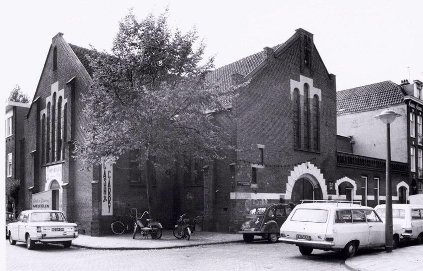 Koninkrijkszaal Jehova's Getuigen Simon Stevinstraat 1 - Foto: Beeldbank Amsterdam -  Alle rechten voorbehouden