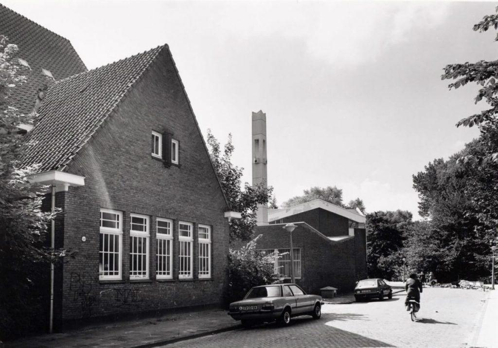 Kerk van Jezus Christus van de Heiligen der Laatste dagen Zaaiersweg 17 - Foto: Beeldbank Amsterdam - Alle rechten voorbehouden[/caption]