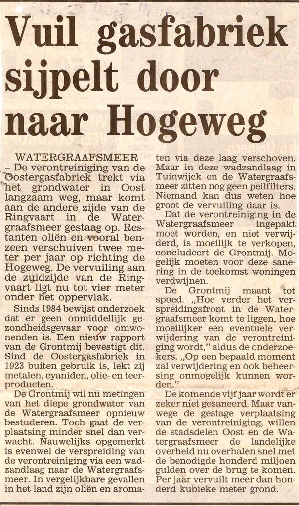 Bron: Stadsblad 6 november 1996 Alle rechten voorbehouden