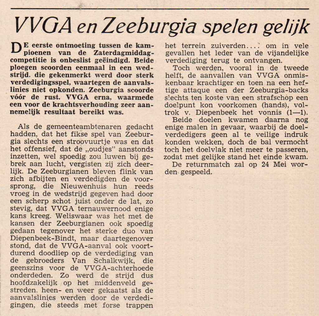 VVGA - Zeeburgia