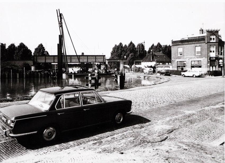 Weesperzijde 1968 - Foto: Beeldbank Amsterdam - Alle rechten voorbehouden