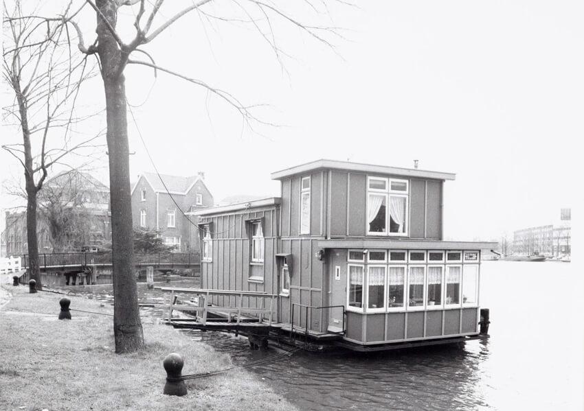 De woonboot - Foto: Beeldbank Amsterdam - Alle rechten voorbehouden
