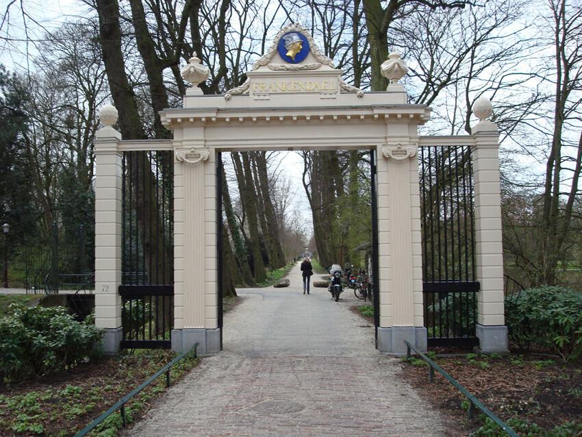 De statige ingang van Frankendael - Alle rechten voorbehouden
