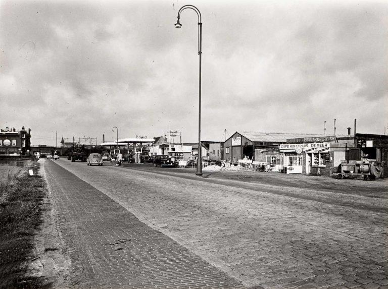 Garage Slagboom, Weesperzijde 260. ± 1950 Foto: Beeldbank Stadsarchief Amsterdam Alle rechten voorbehouden