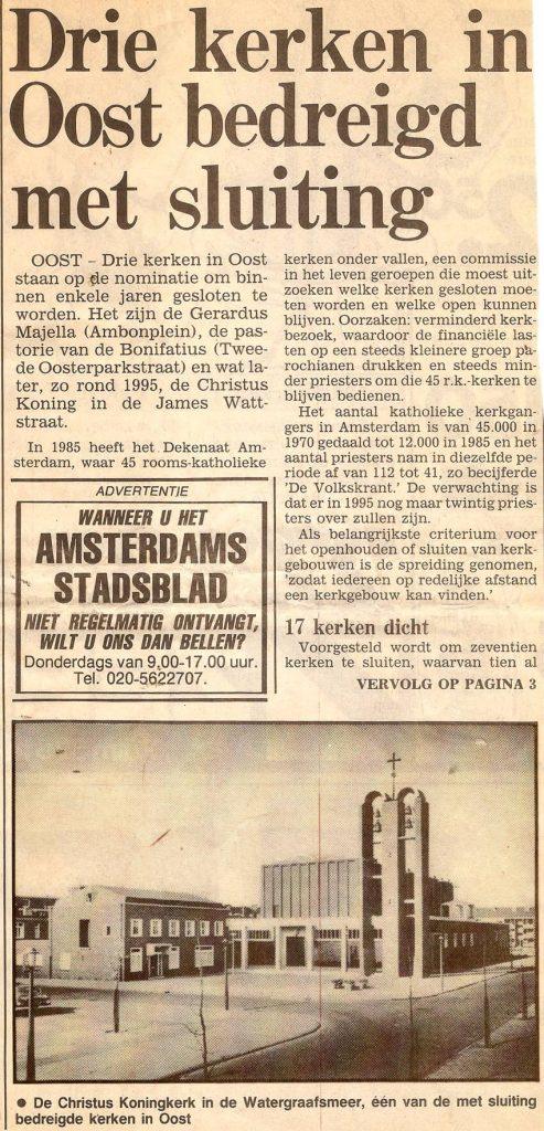 Bron: Amsterdams Stadsblad - 1990 - Alle rechten voorbehouden