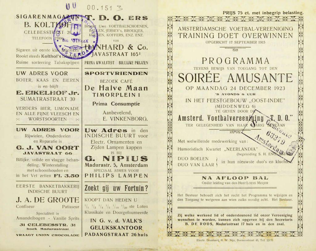 8 jaar TDO 1923