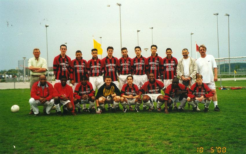 Finale KNVB-beker A-junioren - 2000 - Foto: Louis Schreuders