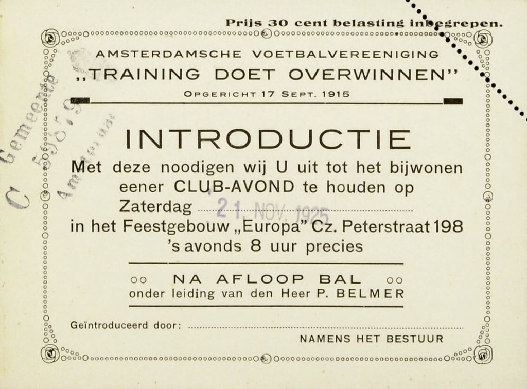 Introductie 1925