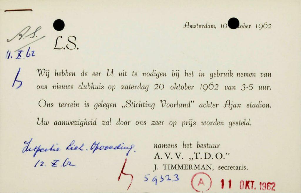 UInodiging 1962