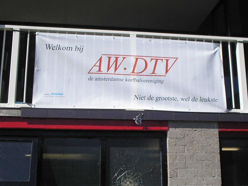 Korfbalclub AW-DTV: Niet de grootste, wel de leukste. Foto: Jo Haen Alle rechten voorbehouden