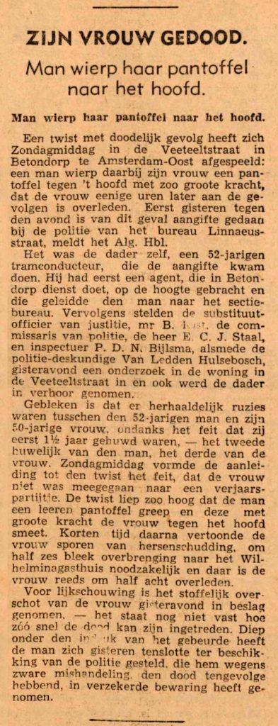07 februari 1939