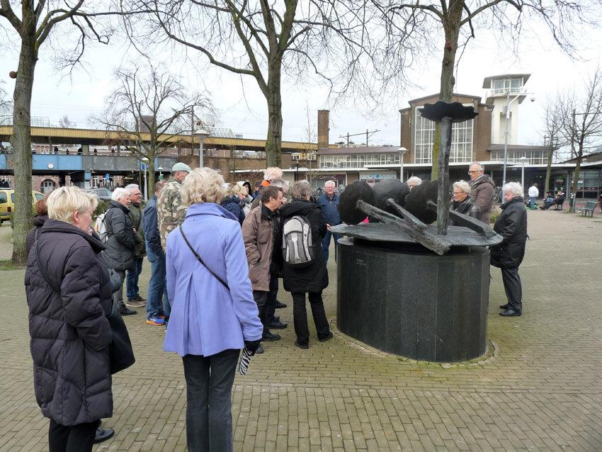 Het monument van Karel Appel - Foto: Toine Roestenburg - Alle rechten voorbehouden