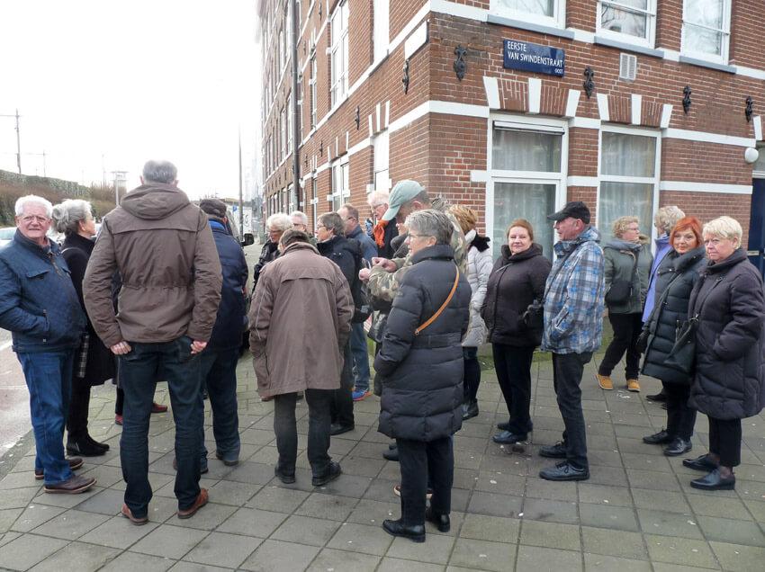 Hoek 1e van Swindenstraat - Foto: Toine Roestenburg - Alle rechten voorbehouden