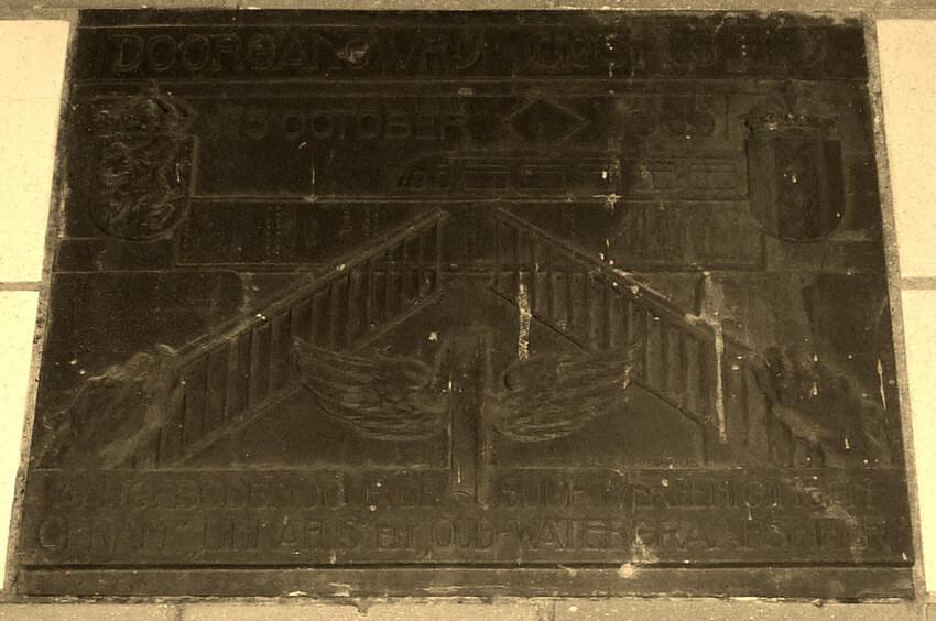 De plaquette - Foto: Toine Roestenburg - Alle rechten voorbehouden