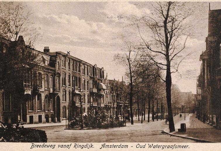 Bredeweg 1928 - Foto: Beeldbank Amsterdam - Alle rechten voorbehouden