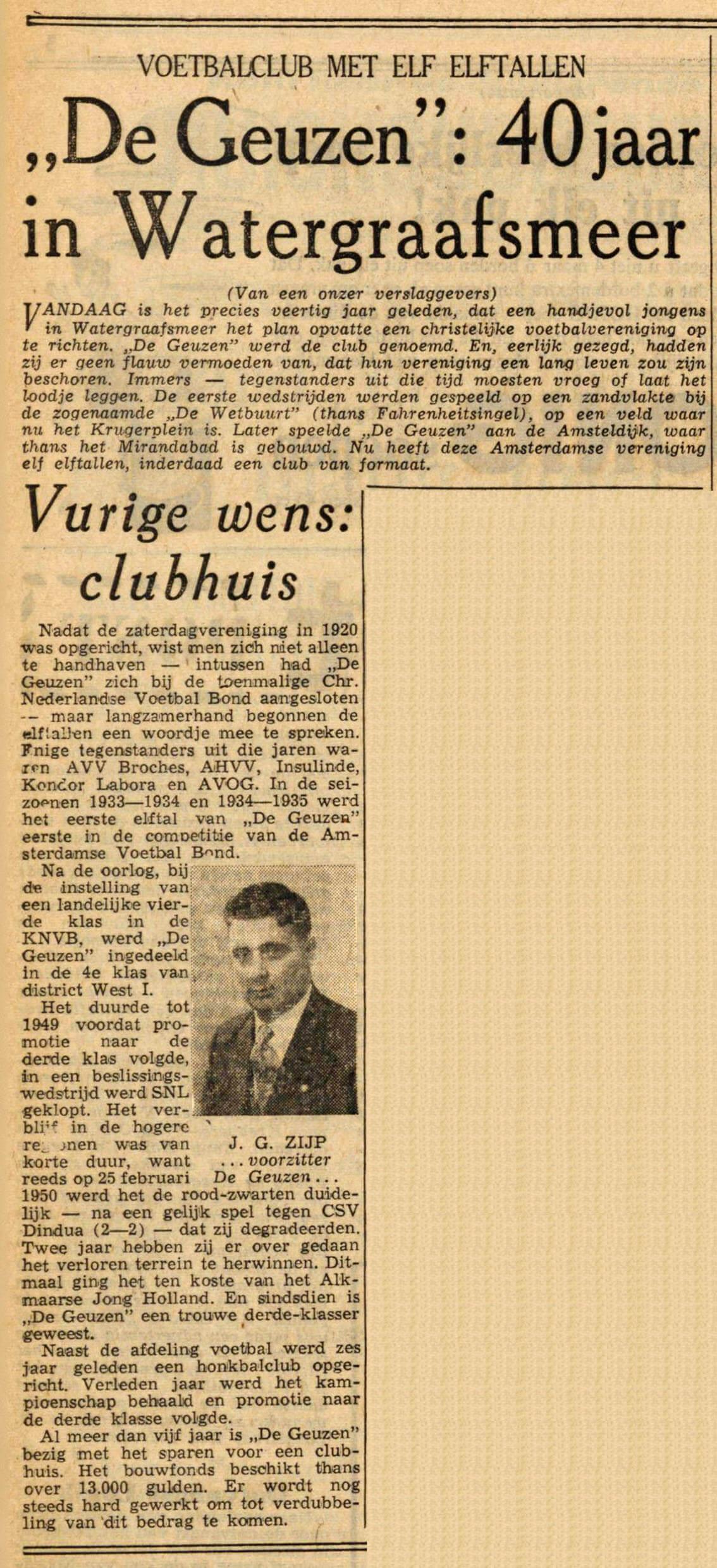 De Geuzen - a - 28-03-1960