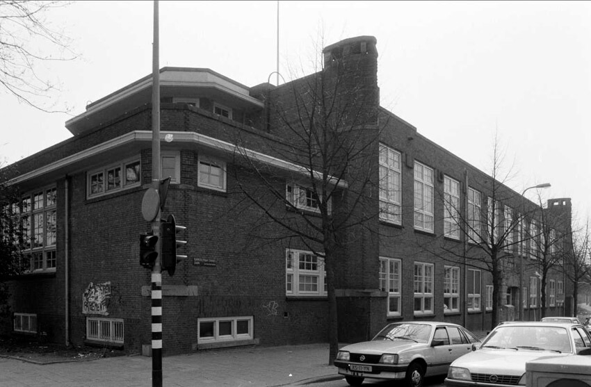 Kamerlingh Onneslaan 01 - 1987 . Foto: Beeldbank Amsterdam Alle rechten voorbehouden