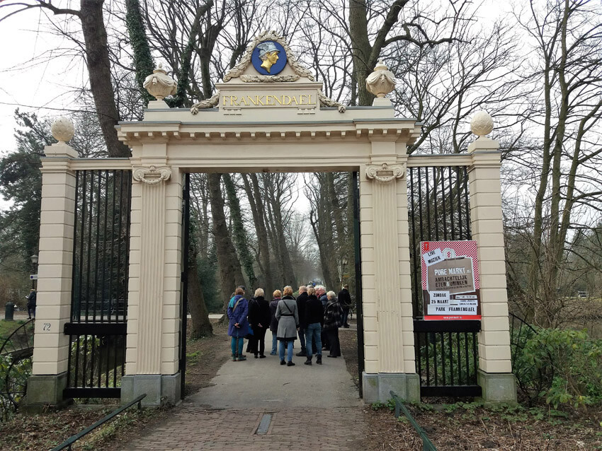 Toegangshek tot Huize Frankendael - Foto: Hans Hamer - Alle rechten voorbehouden