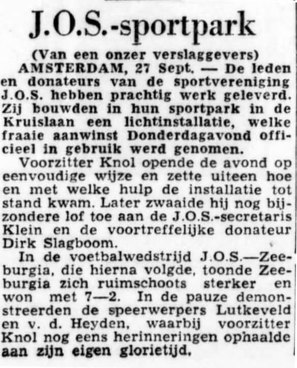 28 september 1951 - Bron: De Telegraaf - Alle rechten voorbehouden