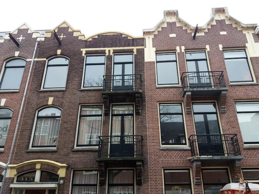 Woningen in de Wakkerstraat - Foto: Hans Hamer - Alle rechten voorbehouden