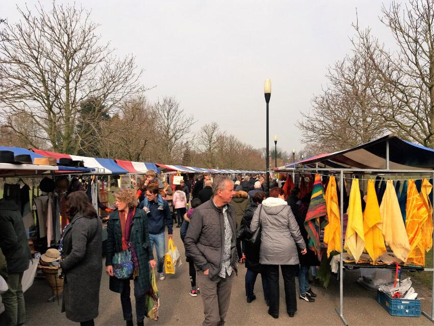 De Pure Markt in Park Frankendael - Foto: Hans Hamer - Alle rechten voorbehouden