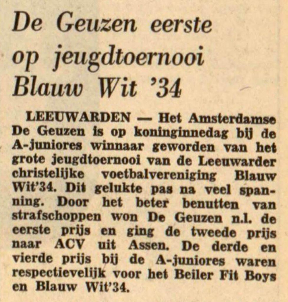 De Geuzen - 02-05-1972