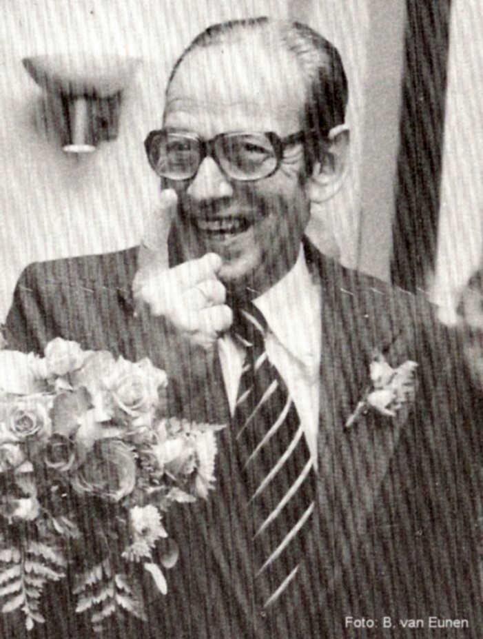 F. Heil jubileum 25 jr in 1975. . Foto: Bert van Eunen  Alle rechten voorbehouden