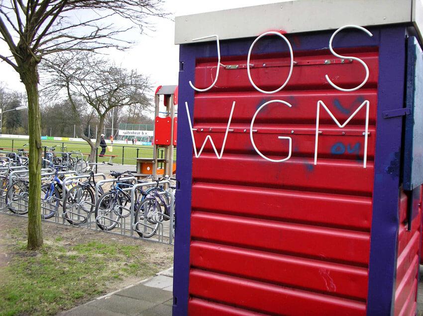 Voetbalclub JOS op sportpark Drieburg in de Watergraafsmeer. (foto 2006 Jo Haen) Alle rechten voorbehouden