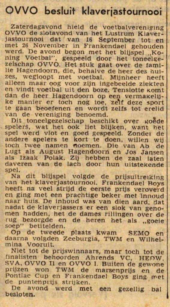 02 december 1952 - Alle rechten voorbehouden