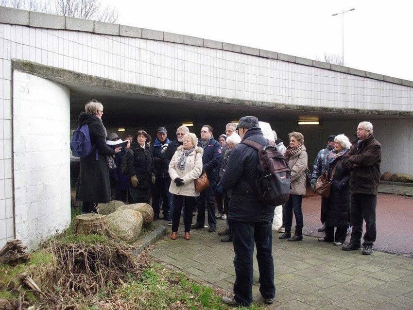 Het tunneltje bij de Kruislaan. Foto: John Haen Alle rechten voorbehouden