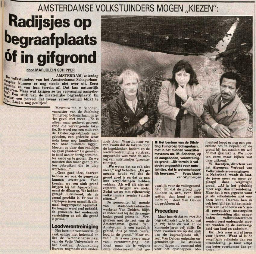 29 april 1989 - Alle rechten voorbehouden