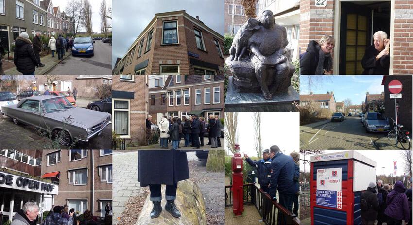 Collage Wandeling Wetburg/Drieburg . Foto: Bea Berk en John Haen Alle rechten voorbehouden